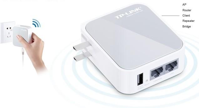 TP-LINK(MINI)无线路由器
