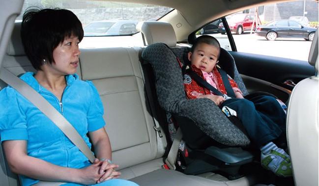 如何选购儿童安全座椅