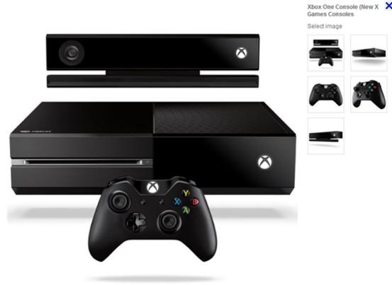 新一代游戏机产品(Xbox One)开始接受预订