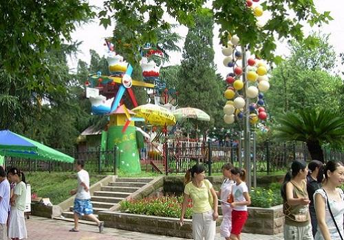 龙禧园公园景观图