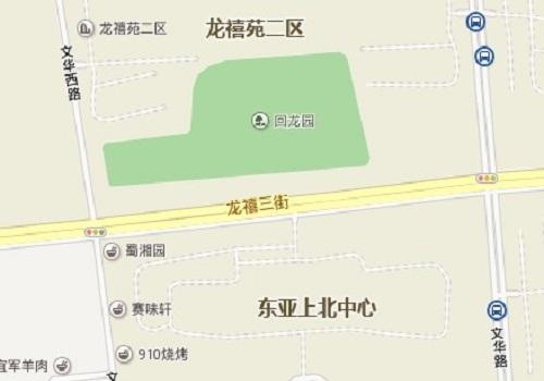 龙禧园位置