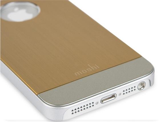 iphone5c金属拉丝超薄外壳