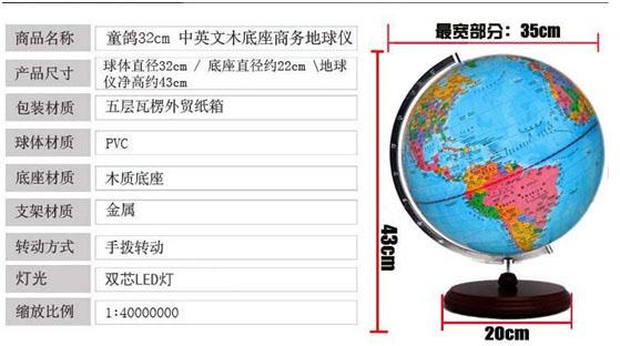 灯光地球仪