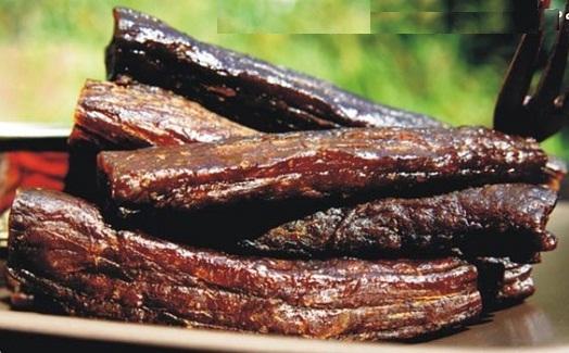 草原旭日半湿型牛肉干(效果图)