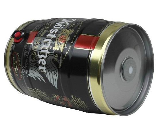 德国卡力特5L装黑啤