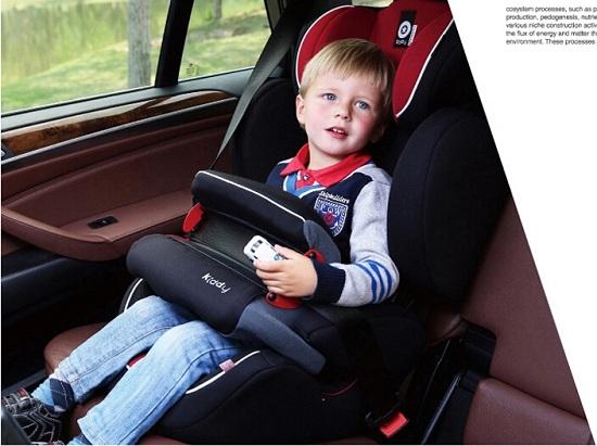 Kiddy护航者儿童安全座椅的前置护体有用吗