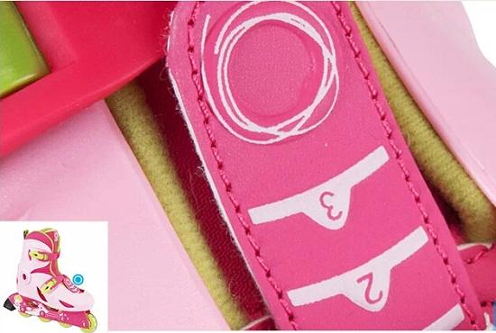 从尺码调节器来判断儿童轮滑鞋的品质