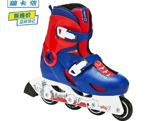 迪卡侬PLAY3儿童轮滑鞋