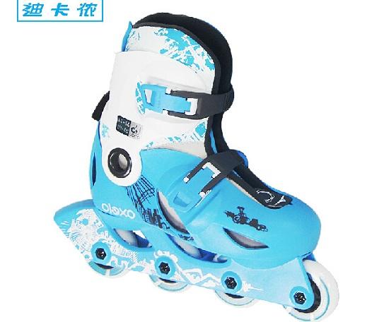 迪卡侬PLAY4儿童轮滑鞋