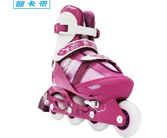 迪卡侬PLAY5儿童轮滑鞋