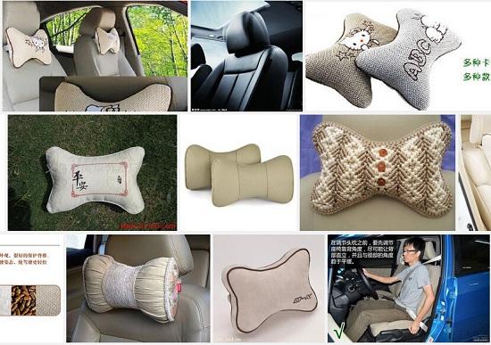 各类汽车头枕