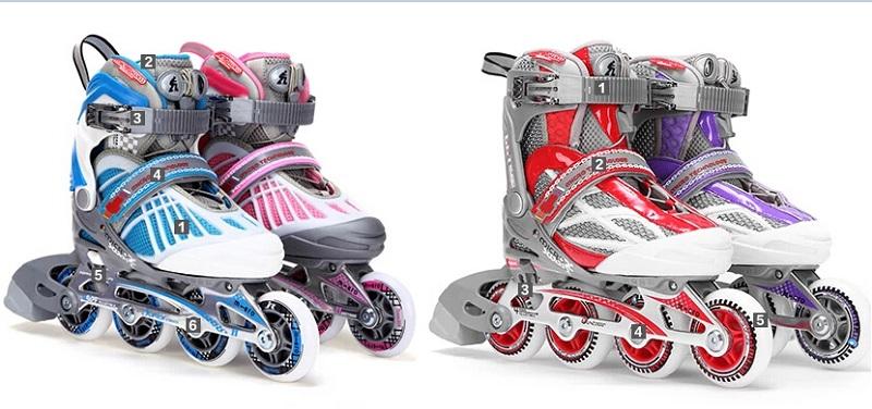 米高936与米高966儿童轮滑鞋的区别