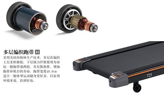 跑步机的核心部件-电机和跑带