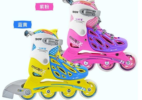 夏季款的米高901儿童轮滑鞋
