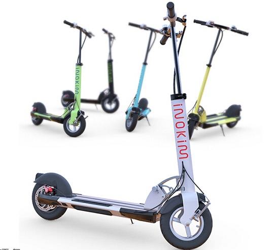 业内享有盛名的以色列inokmi quick2电动滑板车