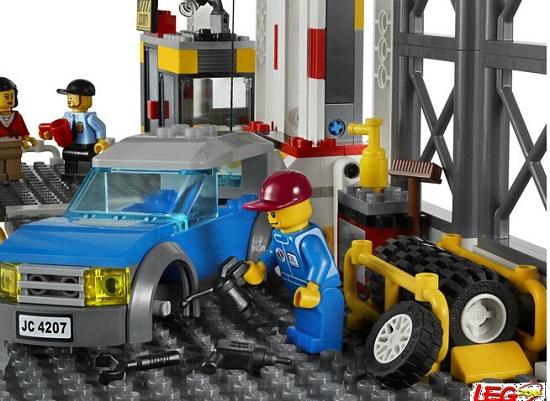 乐高自动化停车场