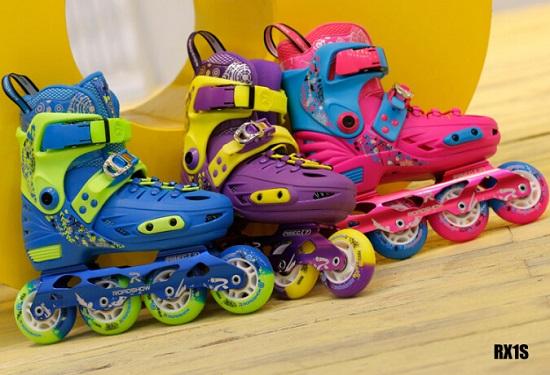 乐秀儿童轮滑鞋