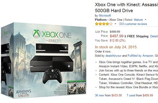 美版xbox one报价