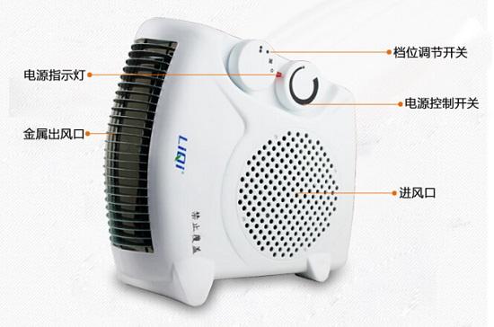 热风电暖器