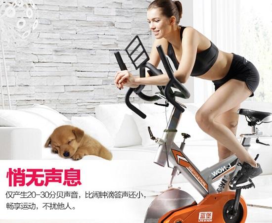 健身单车-蓝堡