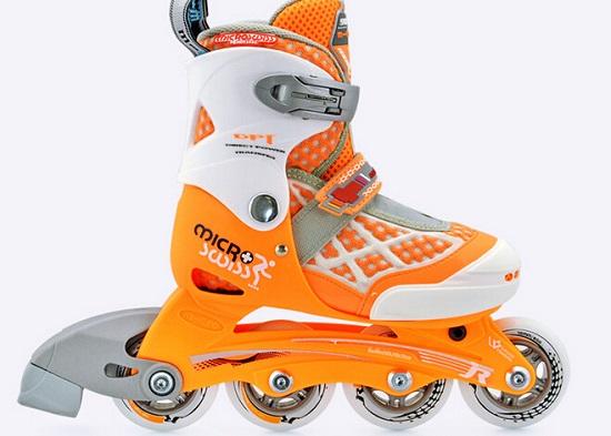 老款的米高906儿童轮滑鞋