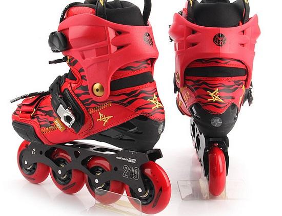 宝狮莱轮滑鞋