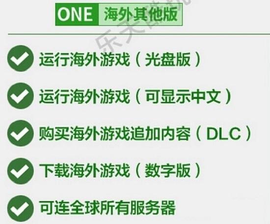 关于海外版xBox one