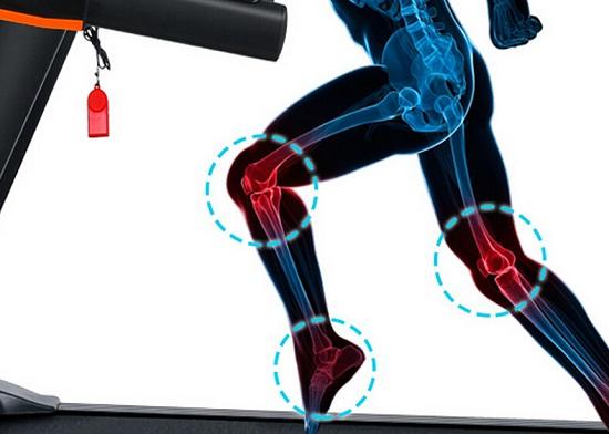 跑步机易带来的运动损伤