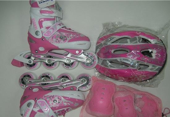 软壳轮滑鞋