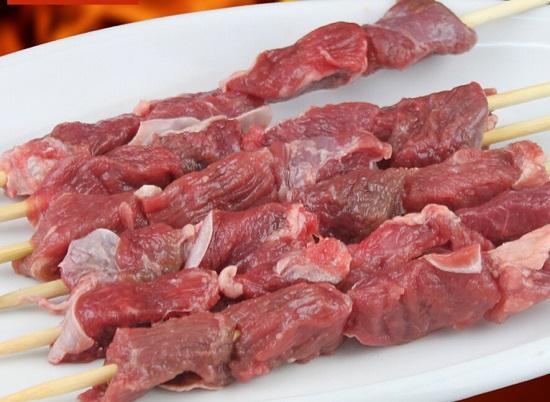 鲜嫩的羊肉