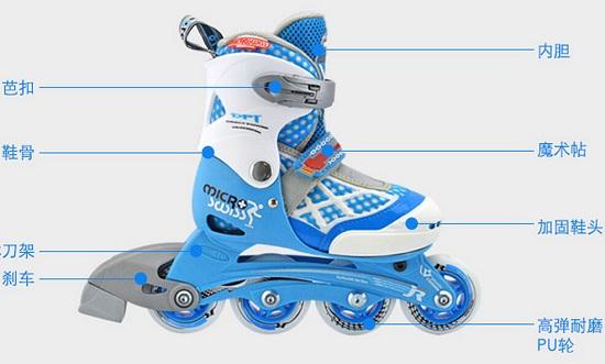 购买合适的儿童轮滑鞋