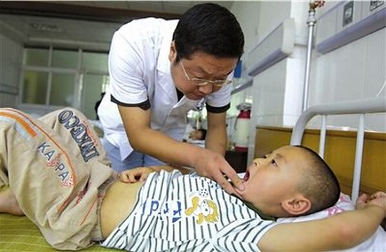 住院治疗扁桃体炎