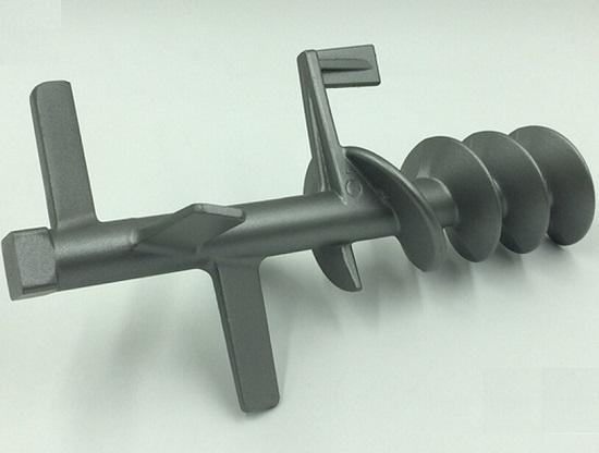 全自动面条机的纯金属搅拌轴