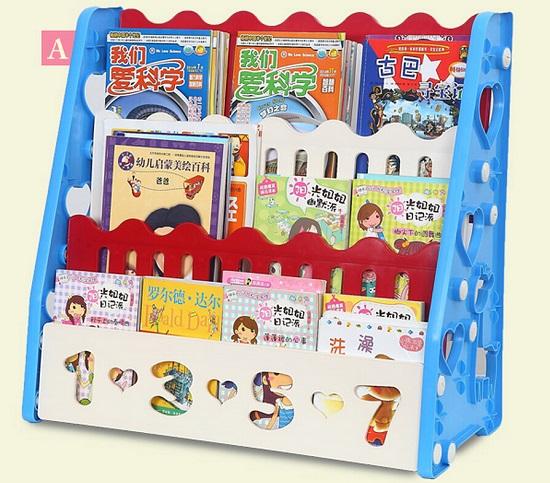 报刊架式儿童书架