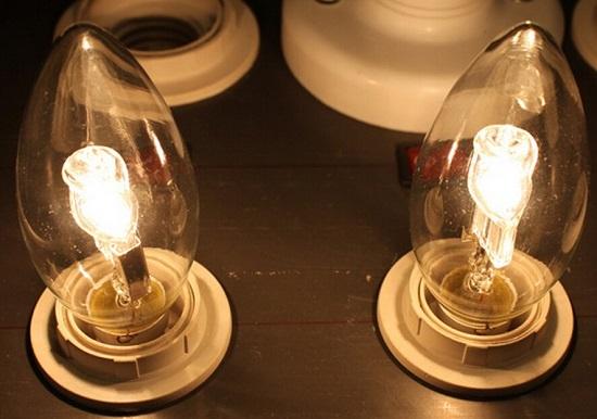 钨丝卤素灯