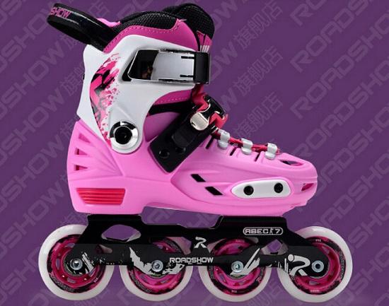 乐秀RX1、RX2和RX3儿童轮滑鞋的区别及适用对象