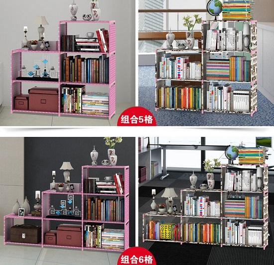 自由组合型书柜
