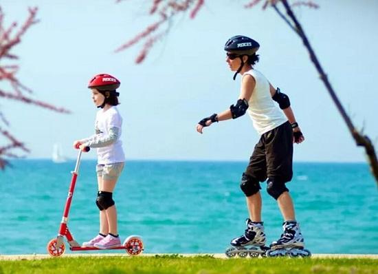 若喜士儿童轮滑鞋的型号及优缺点