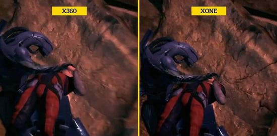 新老两代xbox的画面对比