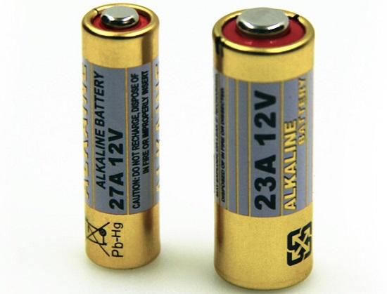 遥控车库门的电池