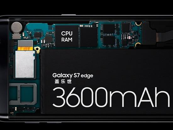 s7 edge的电池容量更大