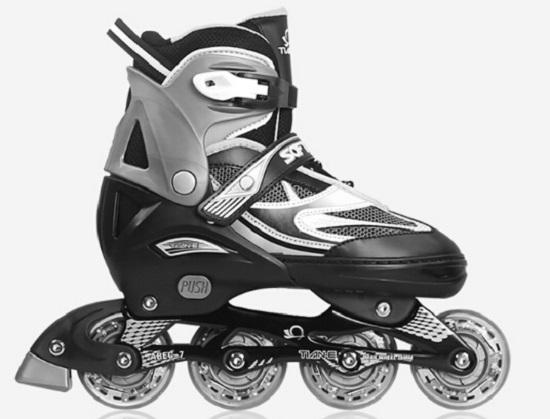 天鹅轮滑鞋