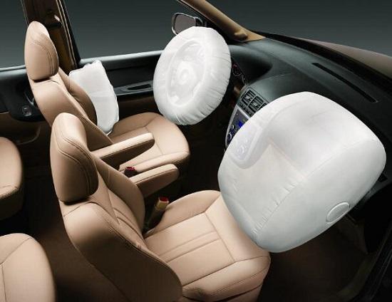 避光垫和安全气囊