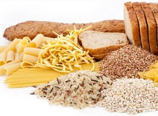 人体的主要能量来源:碳水化合物类食物