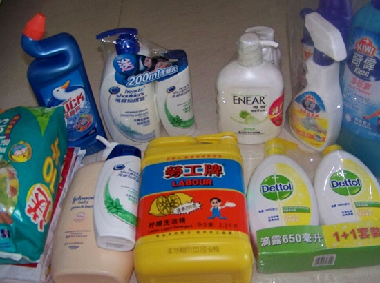 各种洗涤剂