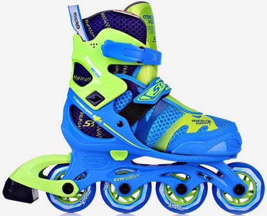 米高S3儿童轮滑鞋