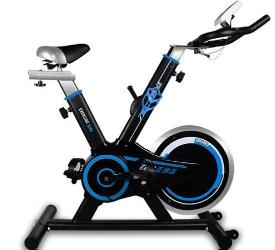 装用刹车片的手动调节动感单车