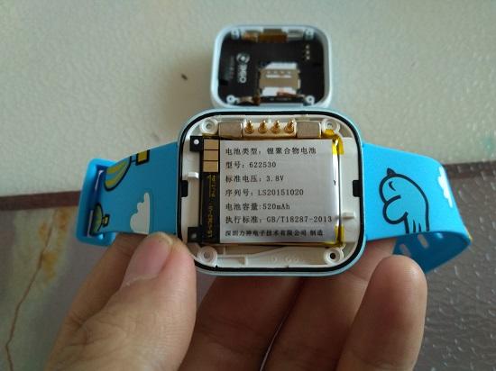 360儿童手表3代的电池