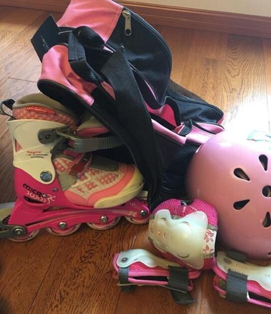二手儿童轮滑鞋