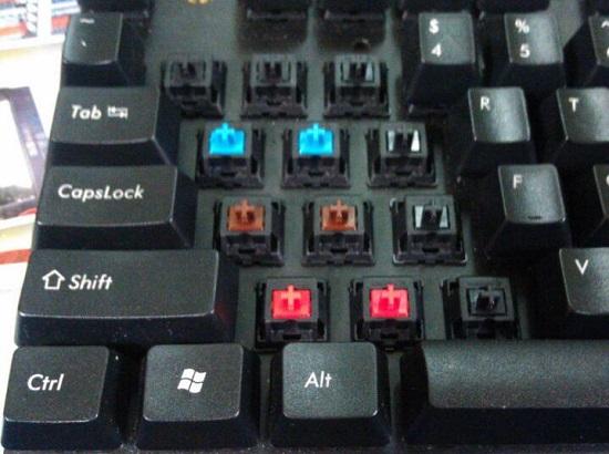 机械键盘有何不同